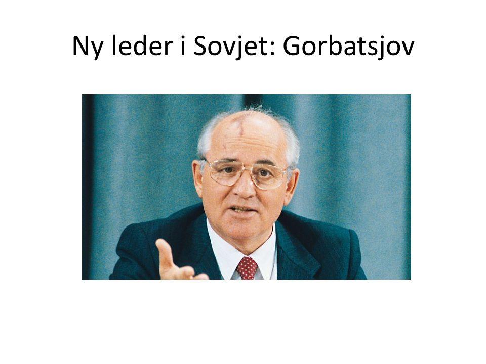 Ny leder i Sovjet: Gorbatsjov