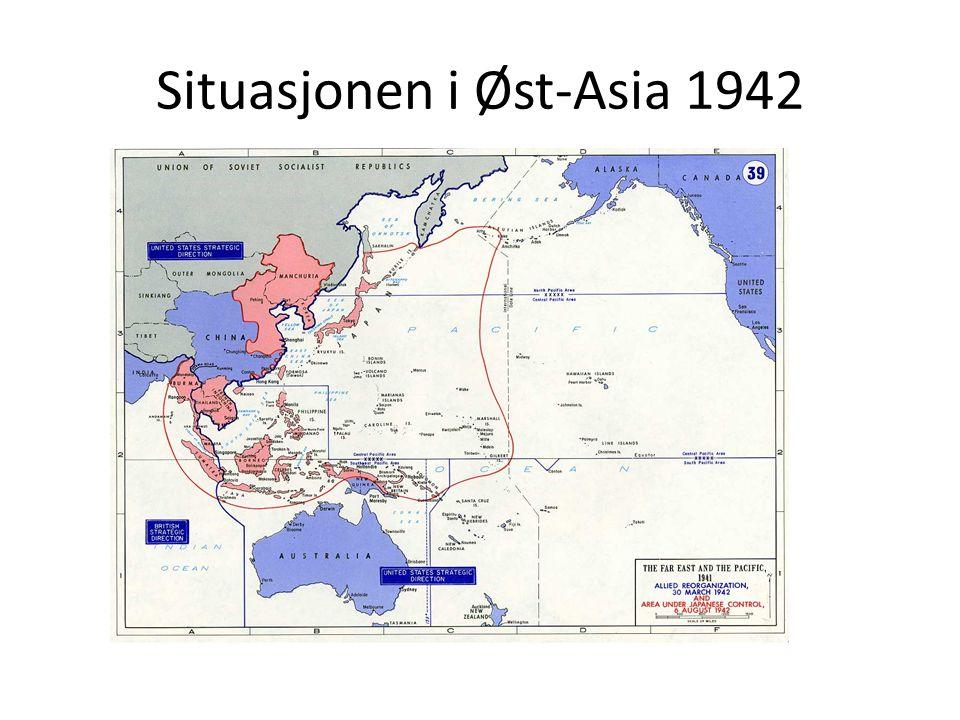 Situasjonen i Øst-Asia 1942