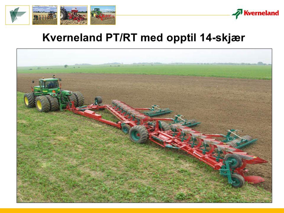 Kverneland PT/RT med opptil 14-skjær
