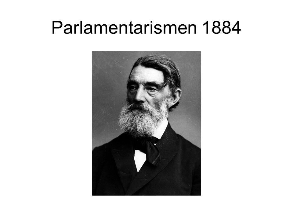 Parlamentarismen 1884