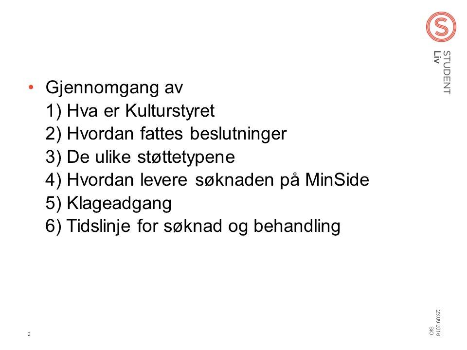 Hva er Velferdstingets Kulturstyre.Kulturstyrets mandat er gitt av Velferdstinget (VT).