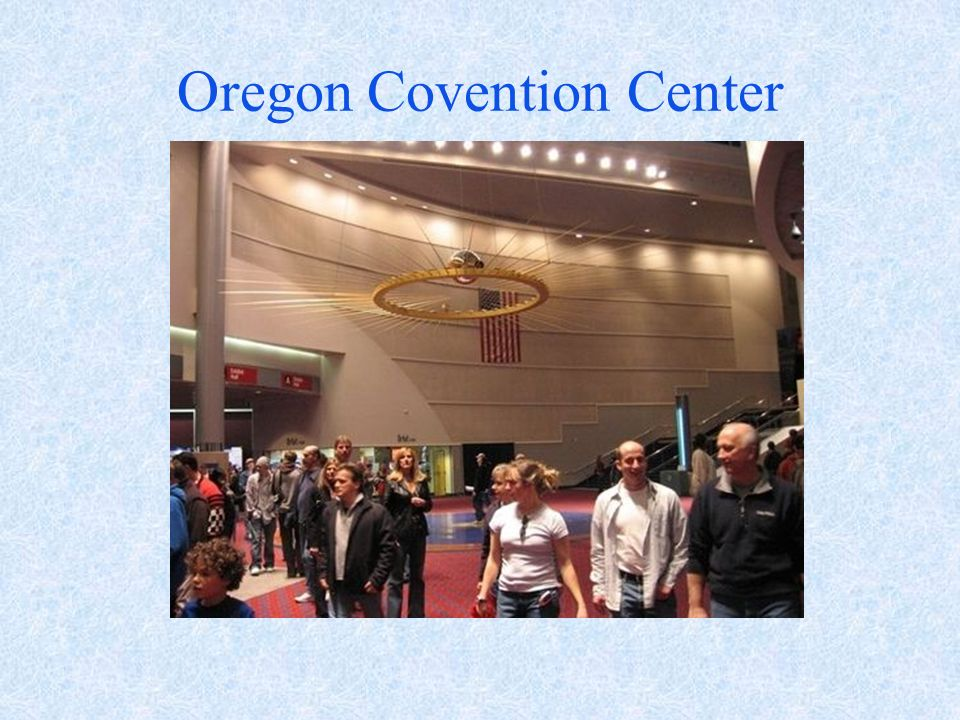 Oregon Covention Center