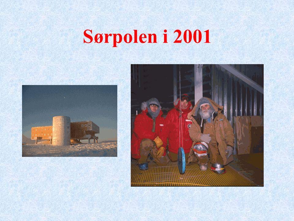 Sørpolen i 2001