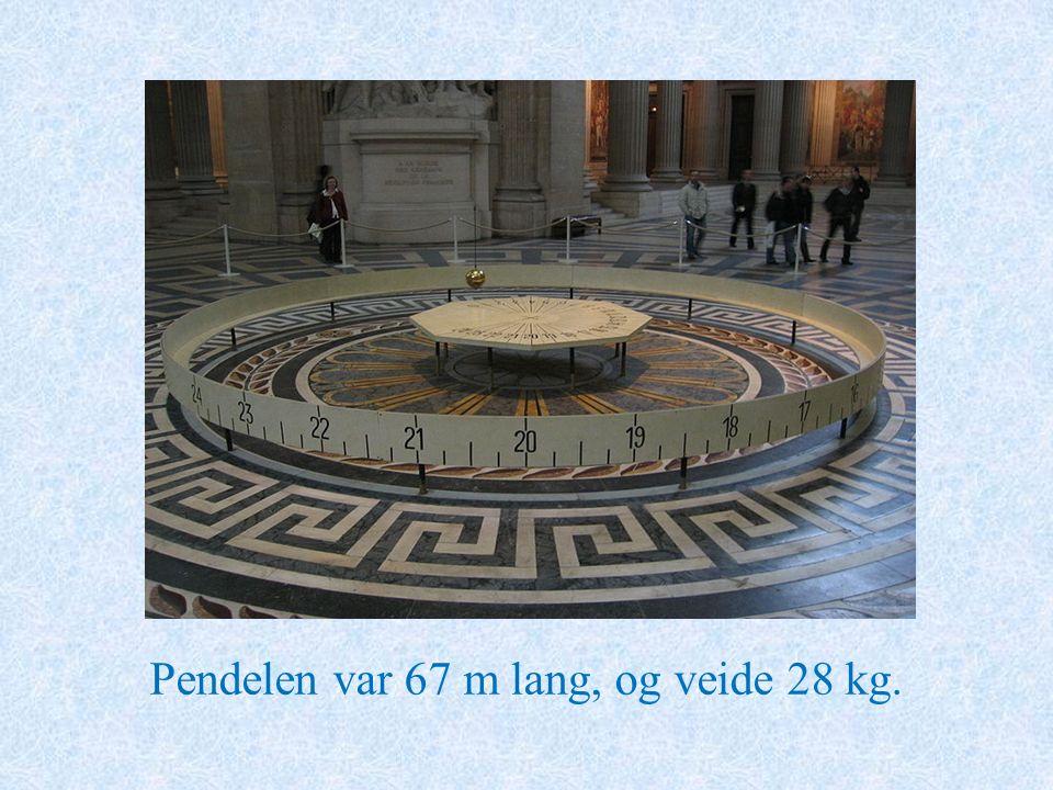 Andre Foucault-pendler: Norges største Foucaultpendel med en lengde på 25 meter befinner seg i Realfagbygget på NTNU (Norges teknisk-naturvitenskapelige universitet).