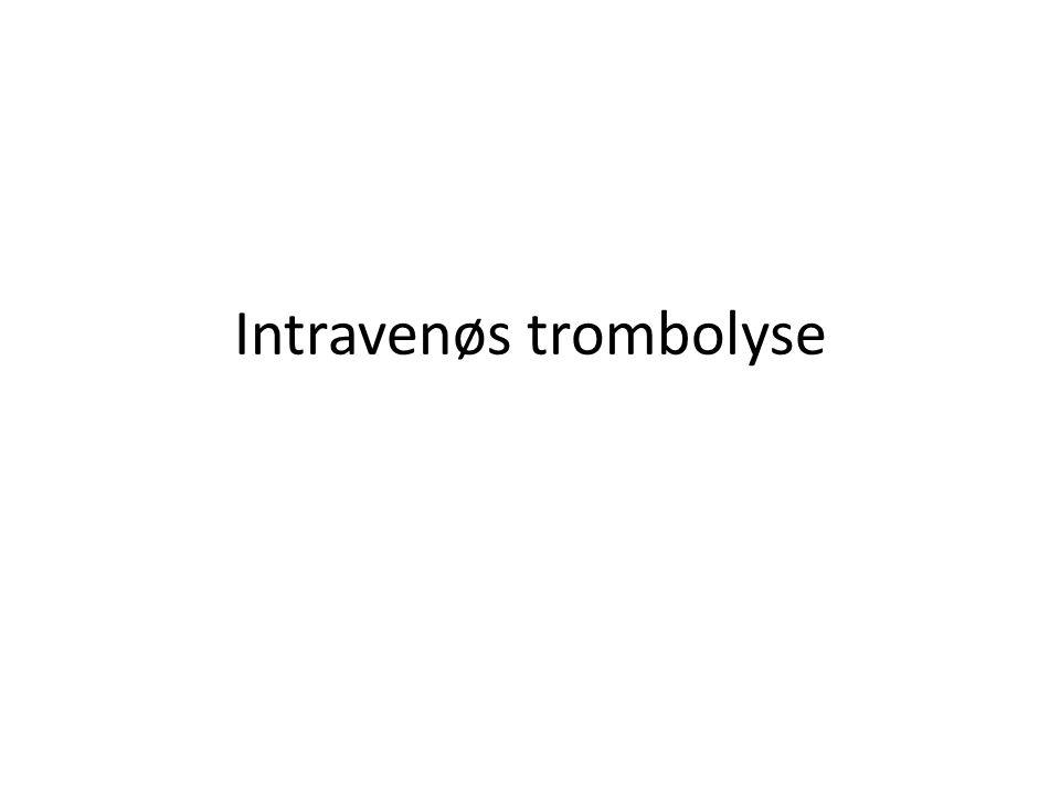 Trombektomi - potensiale 5% vanlig estimat per i dag – Hvis din slagenhet har 200 pas/år, vil 10 trenge trombektomi – 400/år i Norge de neste år?