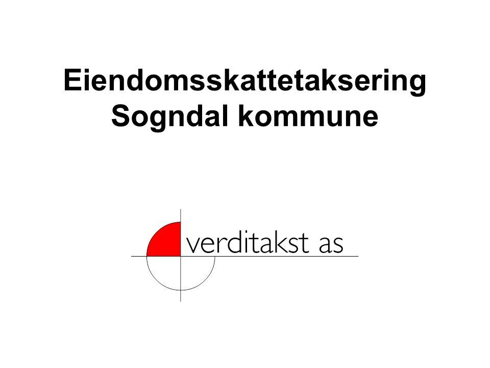 Eiendomsskattetaksering Sogndal kommune