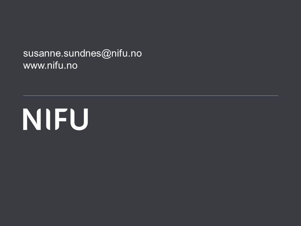 www.nifu.no susanne.sundnes@nifu.no