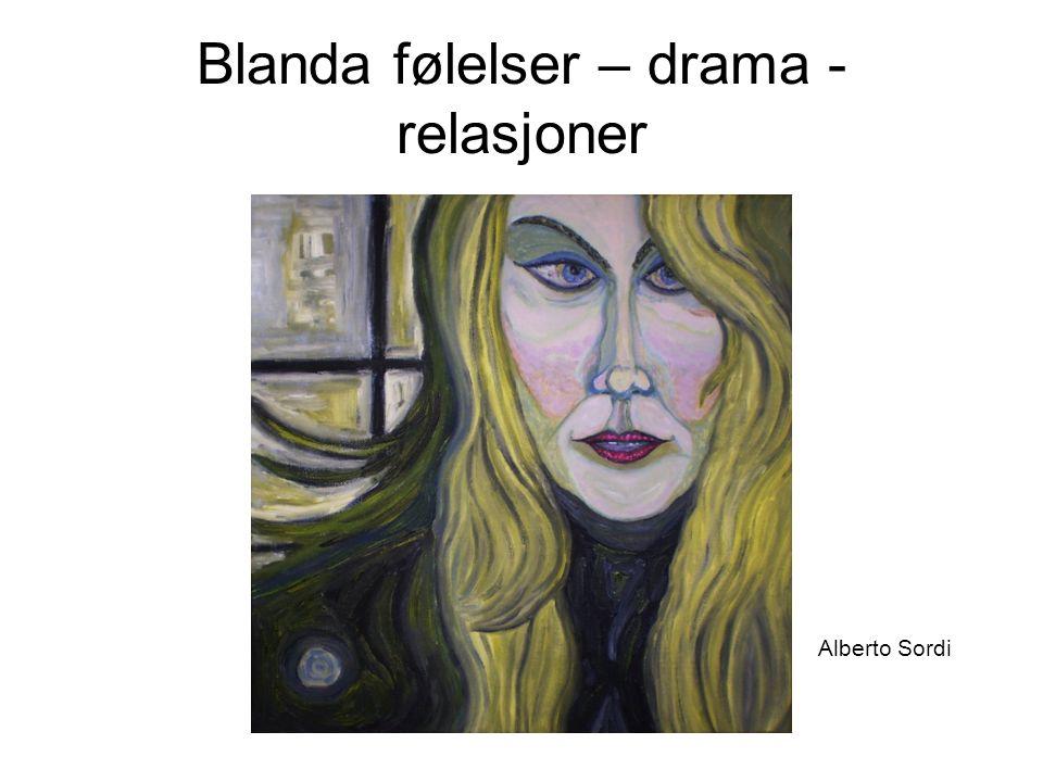 Blanda følelser – drama - relasjoner Alberto Sordi