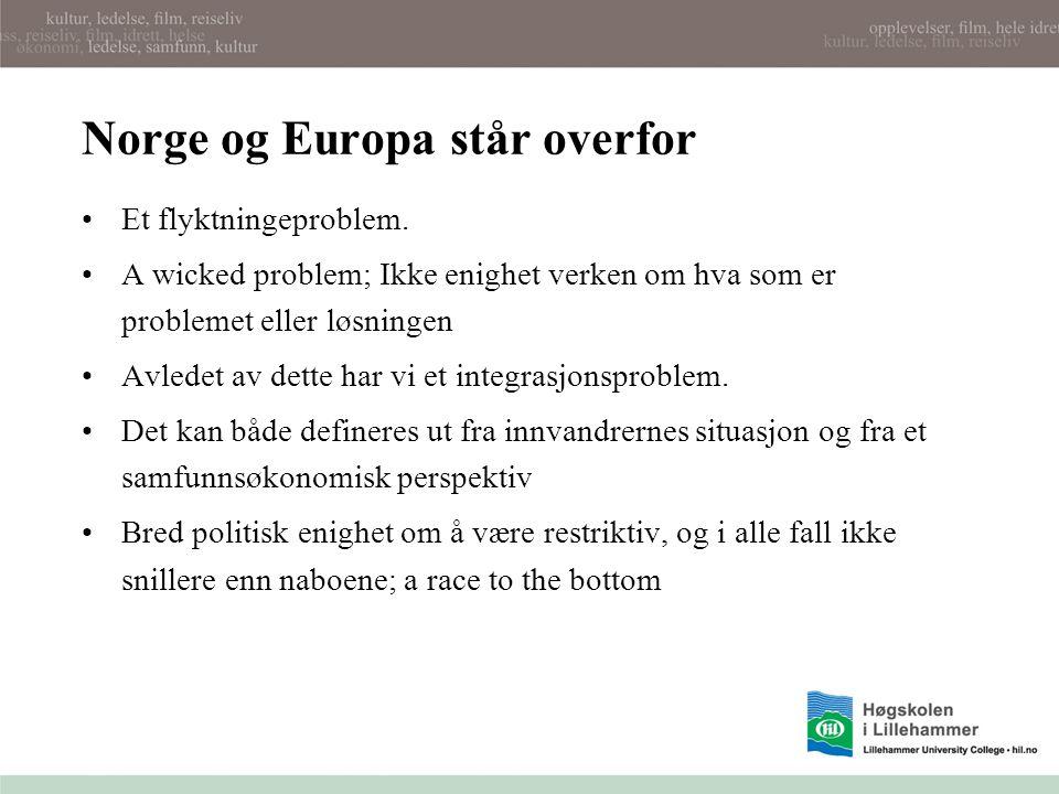 Men Norge og Europa har også et befolkningsproblem: Vi har lave fødselstall og forgubbing Merkel: Vi trenger 10 mill.