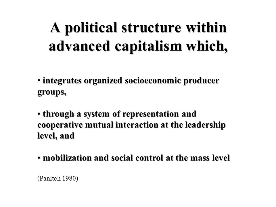 Interesseformidling Stat Samfunn Partier Organisa- sjoner Kartellparti Catchallp.