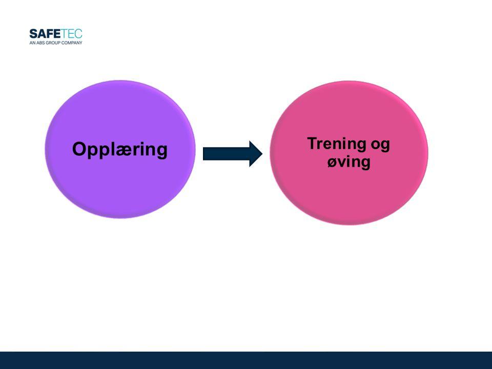 Opplæring Trening og øving