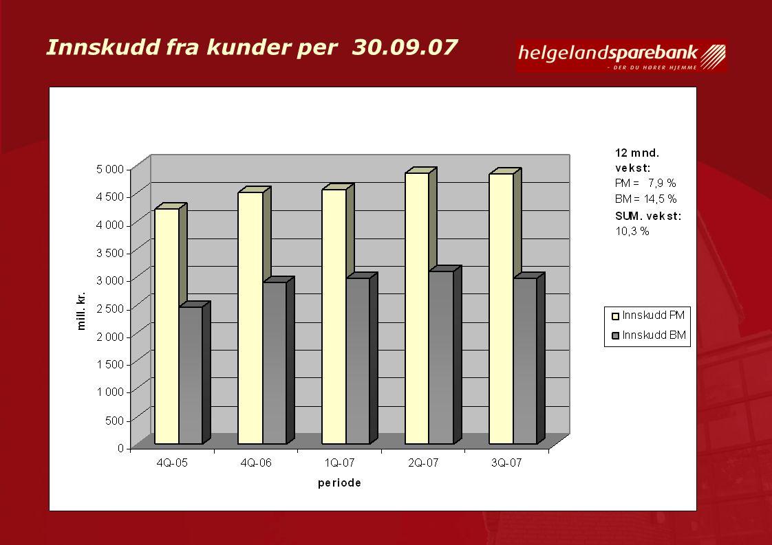 Finansiering Banken har som målsetting at lang finansiering (>12 mnd.) skal være på min.70 %.