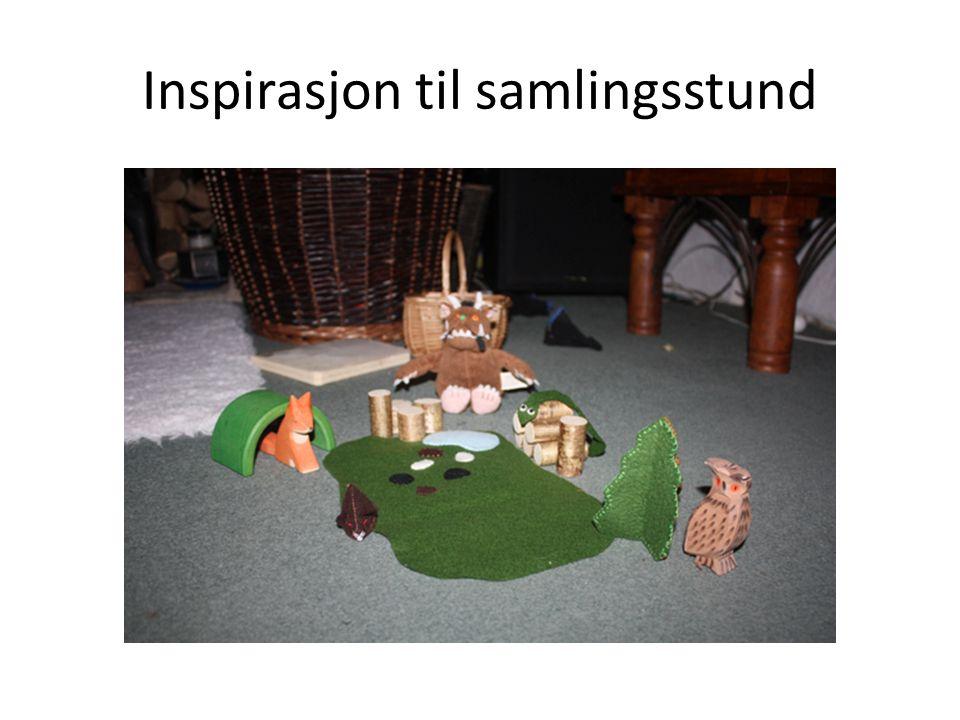 Inspirasjon til samlingsstund