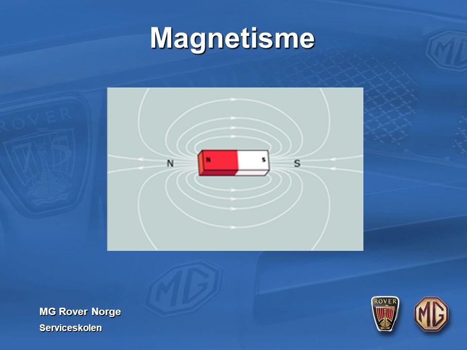 MG Rover Norge Serviceskolen Magnetisme