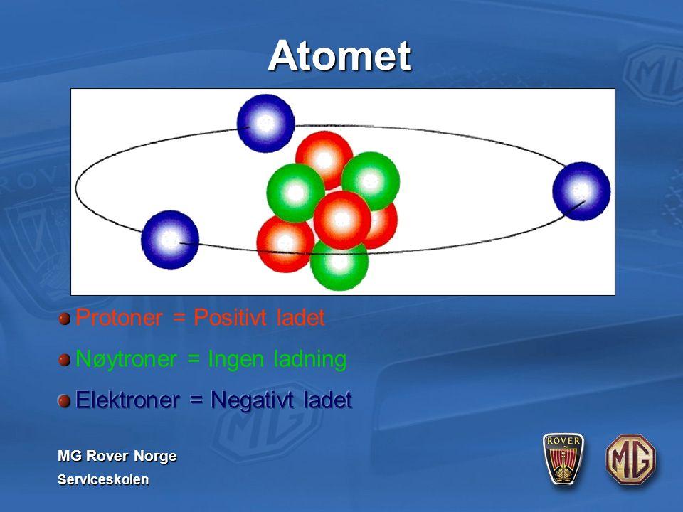 MG Rover Norge Serviceskolen Atomet