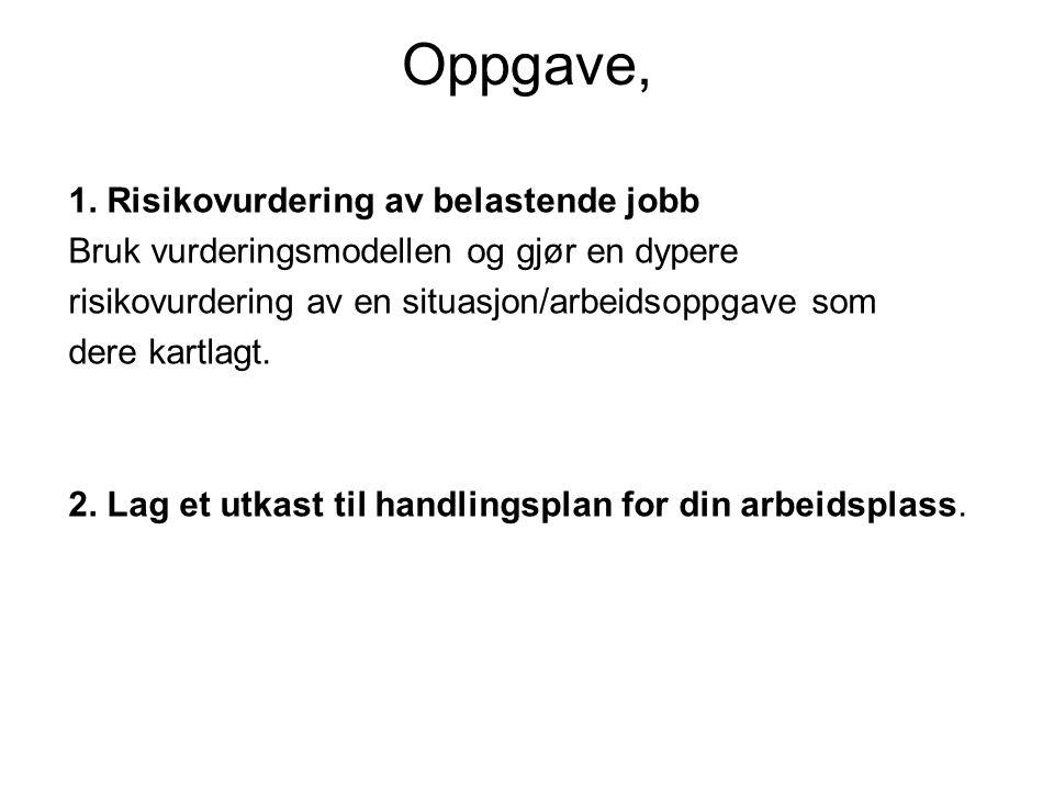 Oppgave, 1.