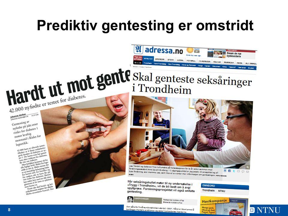 Norge: Striden om avlesning av nordmenns gener