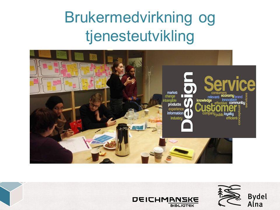 Brukermedvirkning og tjenesteutvikling