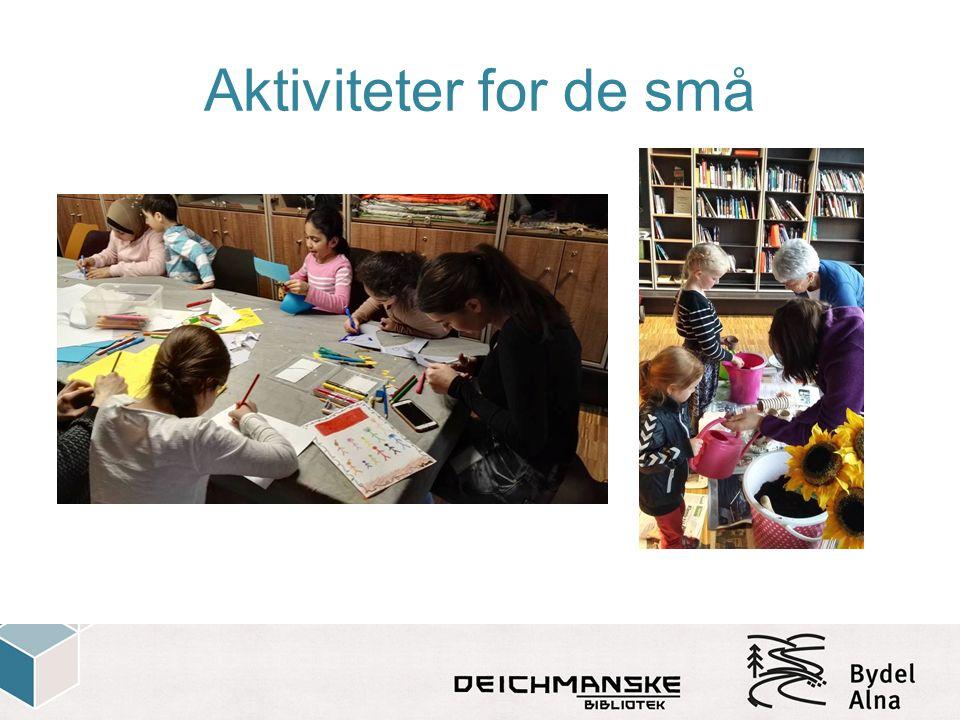 Aktiviteter for de små