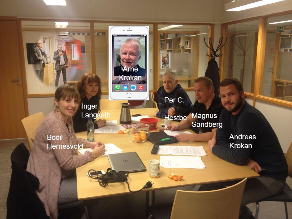 Smart læring MOOC Prosjektrapport 2014 Bodil Hernesvold Inger Langseth Per C. Hestbe k Magnus Sandberg Andreas Krokan Arne Krokan