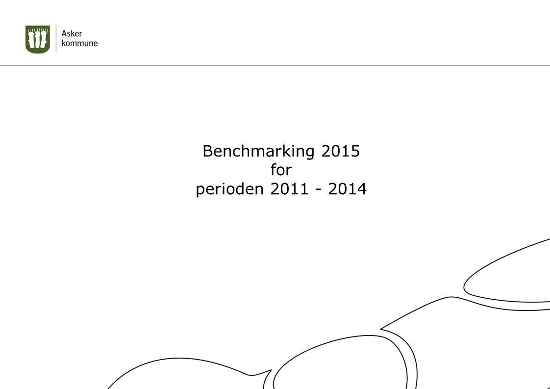 Benchmarking 2015 for perioden 2011 - 2014
