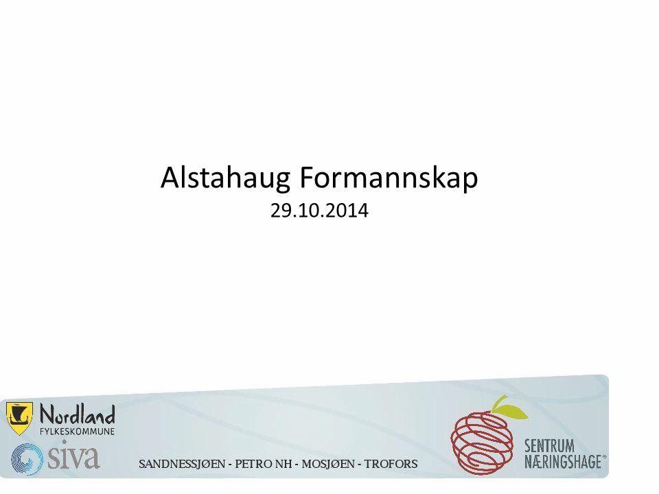 Alstahaug Formannskap 29.10.2014