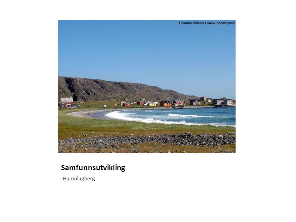 Samfunnsutvikling -Hamningberg