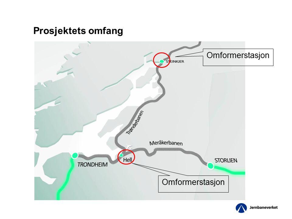 Omformerstasjon Prosjektets omfang