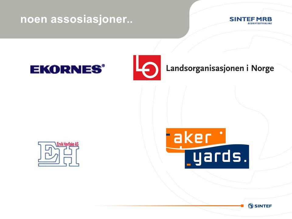 noen assosiasjoner..