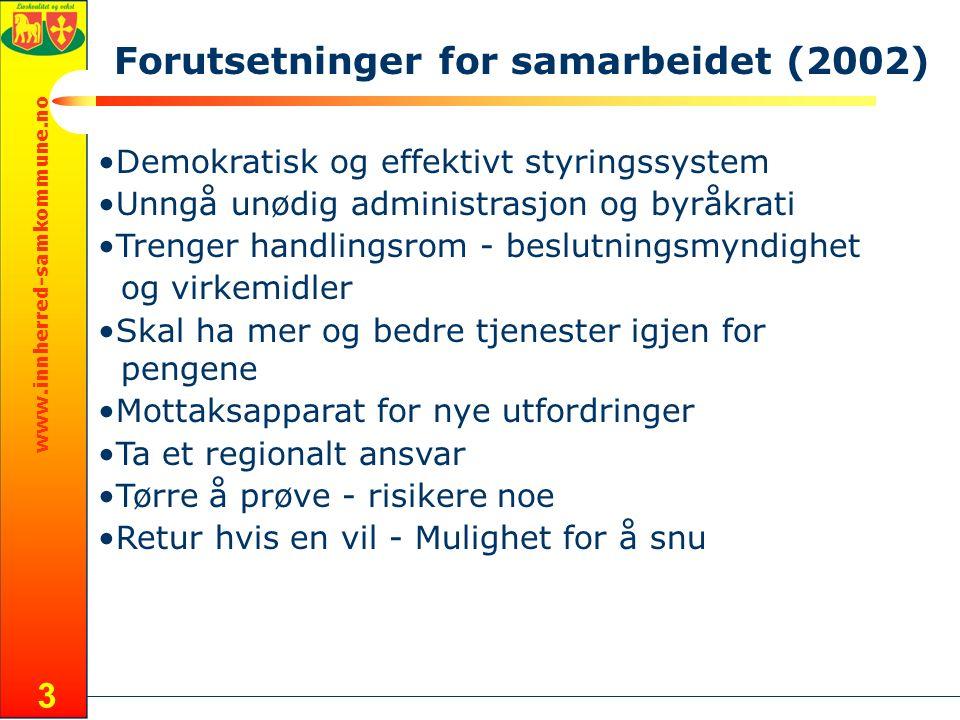 www.innherred-samkommune.no 24 Sammenslutning En kom raskt fram til at en kommunesammenslutning mellom Levanger og Verdal ikke er en aktuell løsning.
