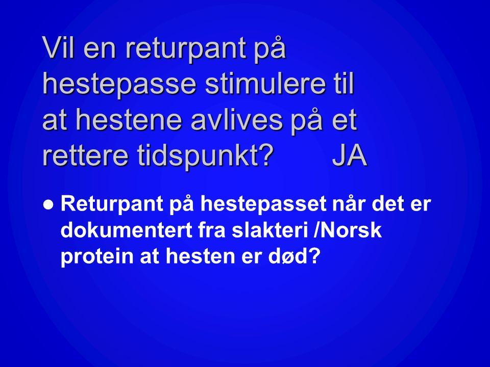 Henting av kadaver Norsk ProteinNorsk Protein henter kadaver i hele landet. Hesten skal ha pass? Hestesko må fjernes. I tilfeller der hesten ikke har