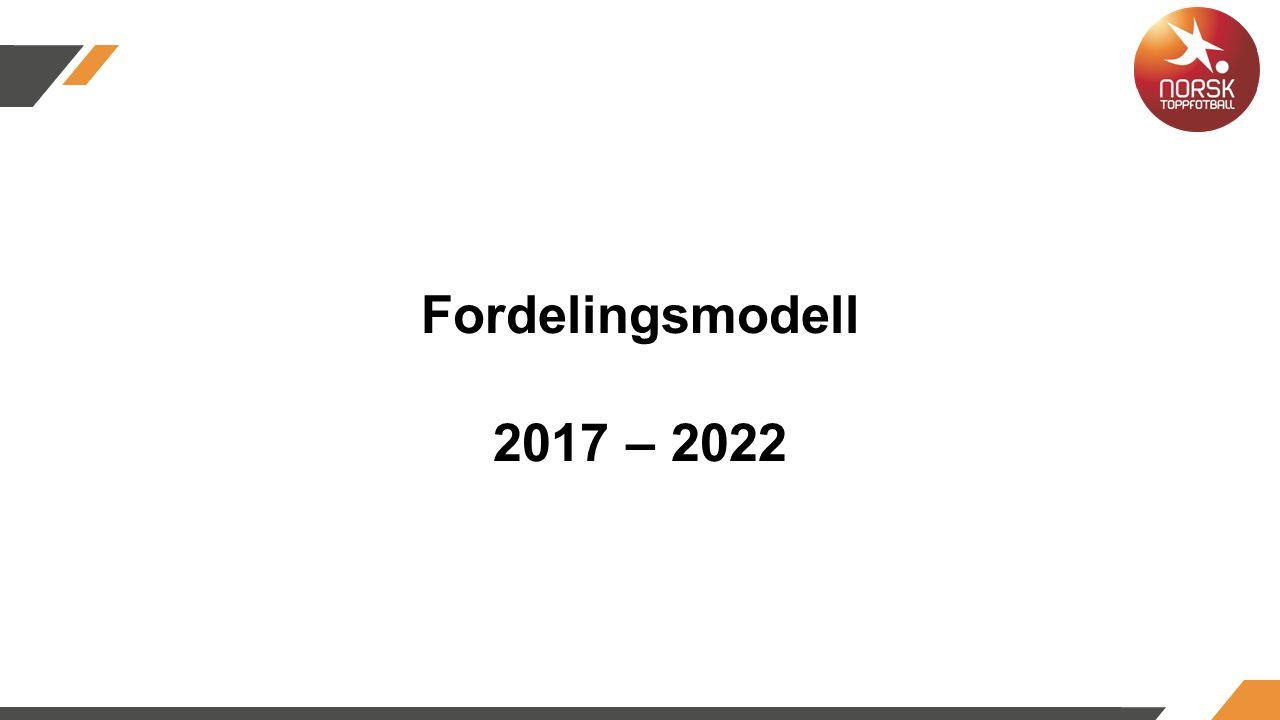 Fordelingsmodell 2017 – 2022