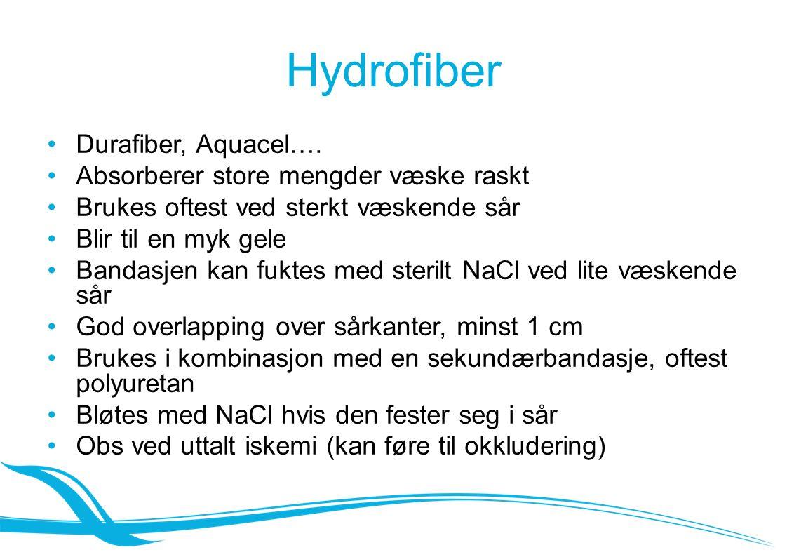 Hydrofiber Durafiber, Aquacel….