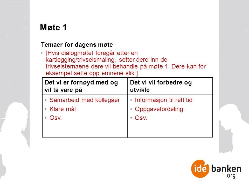 3.Oppsummering og handlingsplan (felles) Ca.
