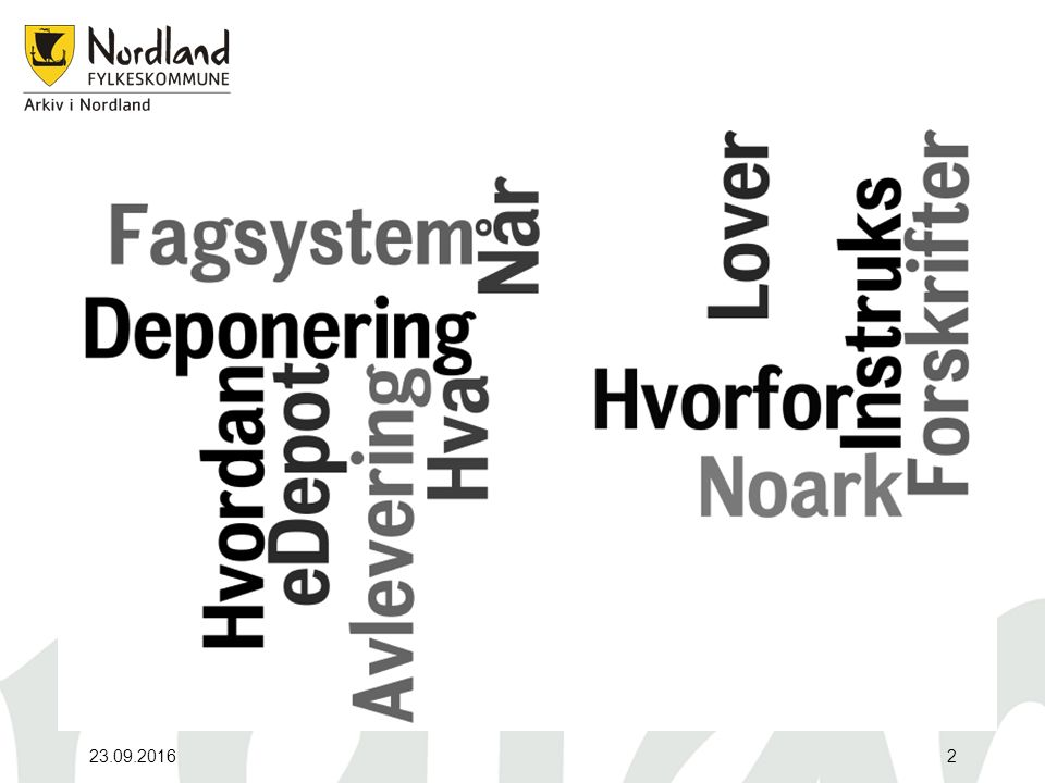 Metode På bakgrunn av metodikken i den tekniske håndteringen av elektroniske avleveringer skiller vi mellom følgende: Systemer som følger Noark-4 standard.