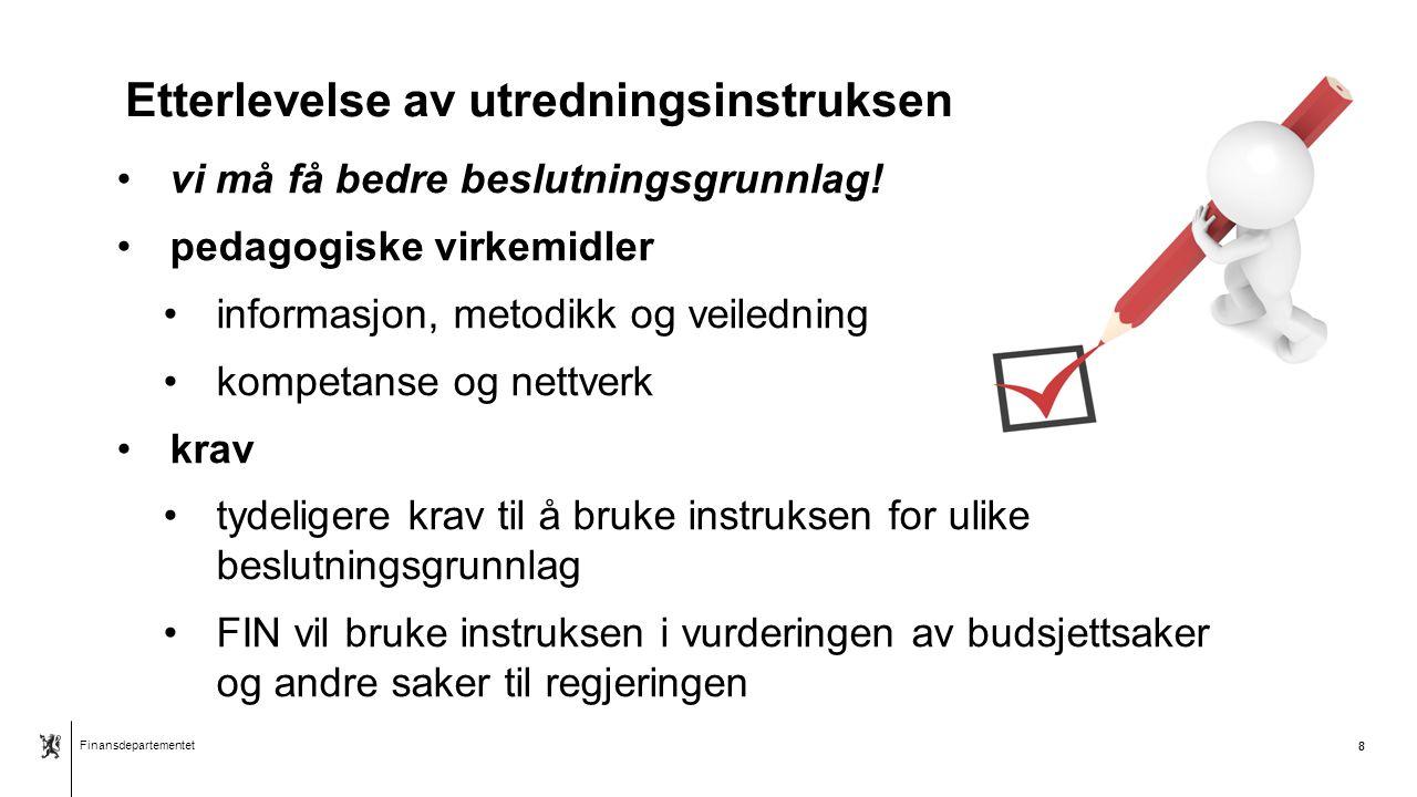 Finansdepartementet Norsk mal: Sluttside Finansdepartementet Takk for oppmerksomheten!