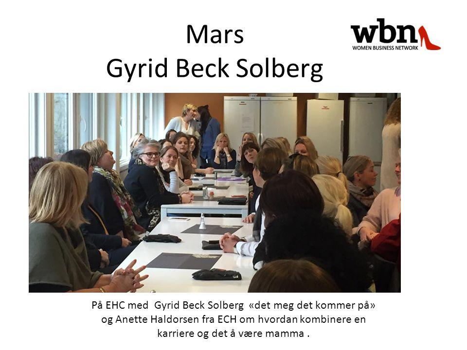 På EHC med Gyrid Beck Solberg «det meg det kommer på» og Anette Haldorsen fra ECH om hvordan kombinere en karriere og det å være mamma.
