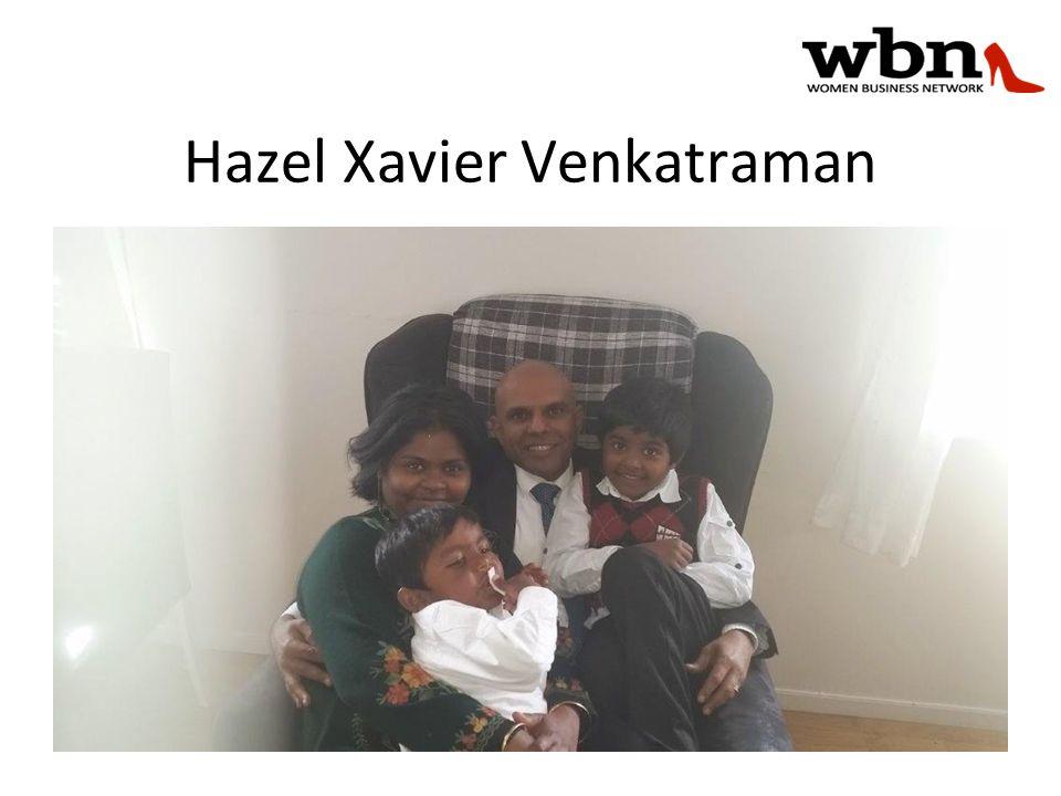 Hazel Xavier Venkatraman