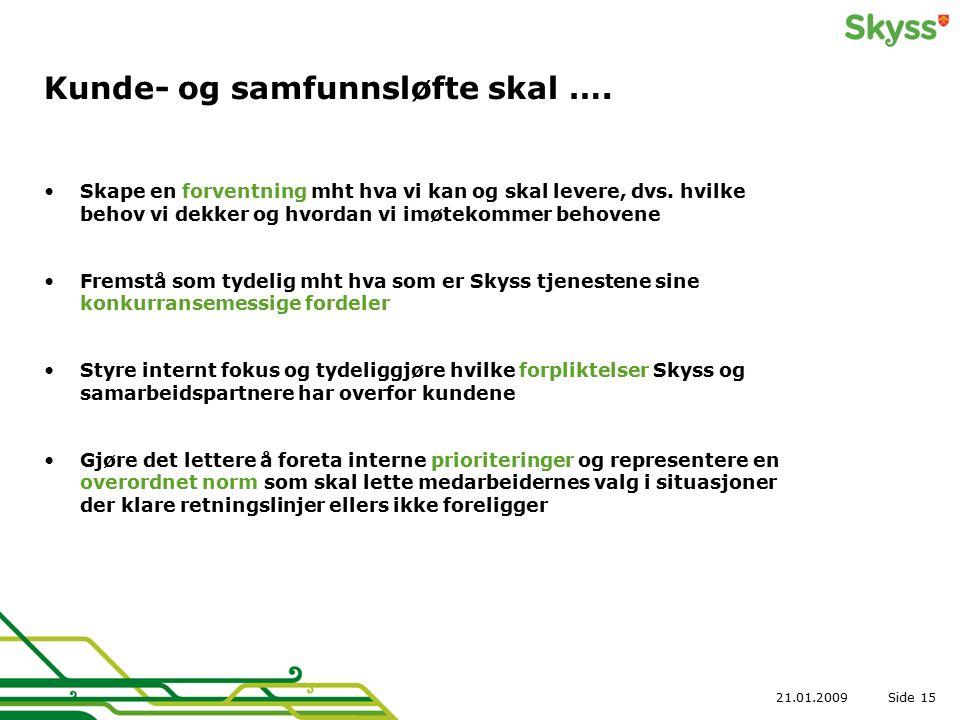 Side21.01.200915 Kunde- og samfunnsløfte skal ….