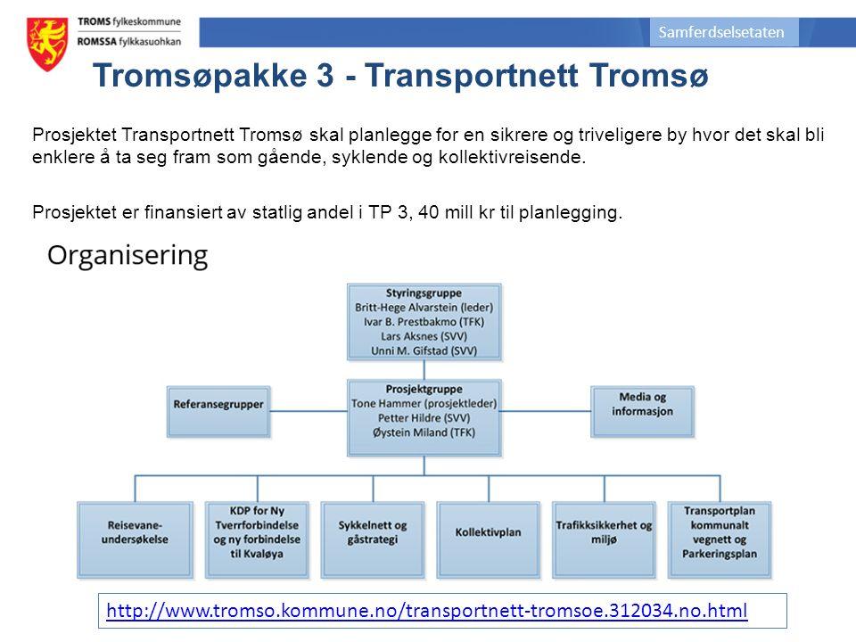 Prosjektet Transportnett Tromsø skal planlegge for en sikrere og triveligere by hvor det skal bli enklere å ta seg fram som gående, syklende og kollektivreisende.