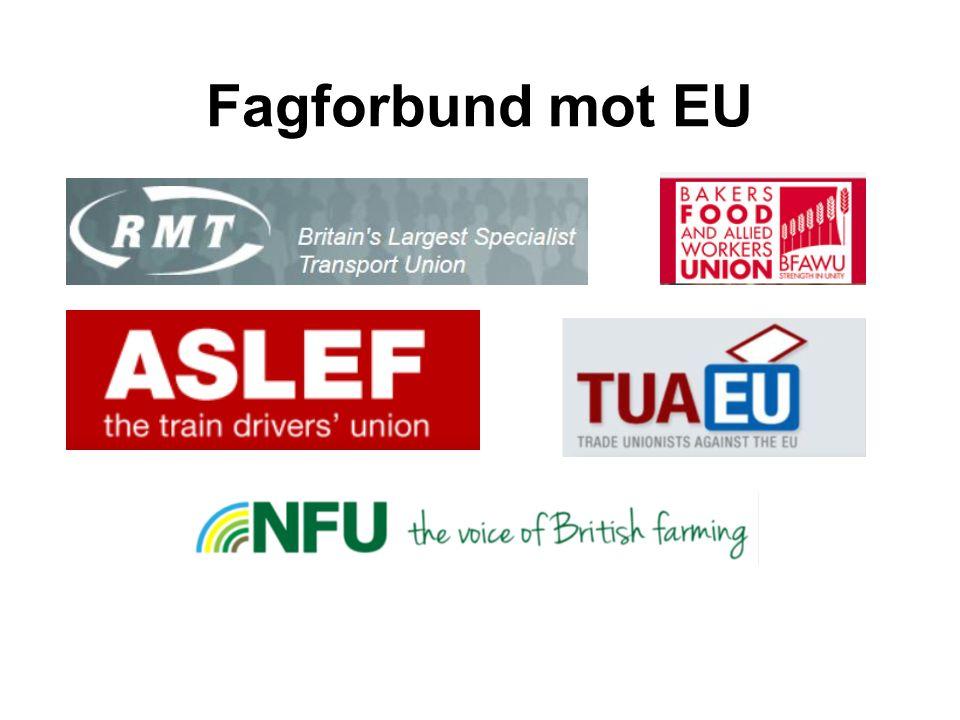Fagforbund mot EU
