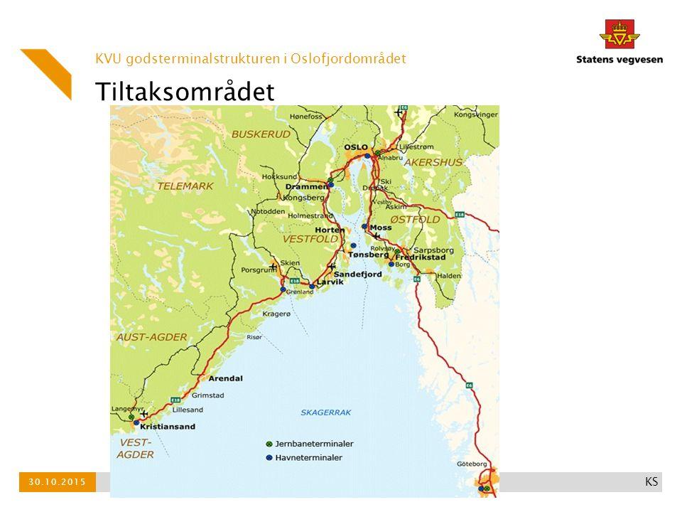 Oppdraget Vi skal utrede:  Behov for kapasitet i godskorridorene i Oslofjordområdet, både i terminalene og i nettet  Når er det behov for mer kapasitet og mulighet for trinnvis utbygging  Aktuelle konsepter for sikker, miljøvennlig og samfunnsøkonomisk effektiv godstransport  Ett skritt lengre enn godsanalysen - hva koster investeringene.