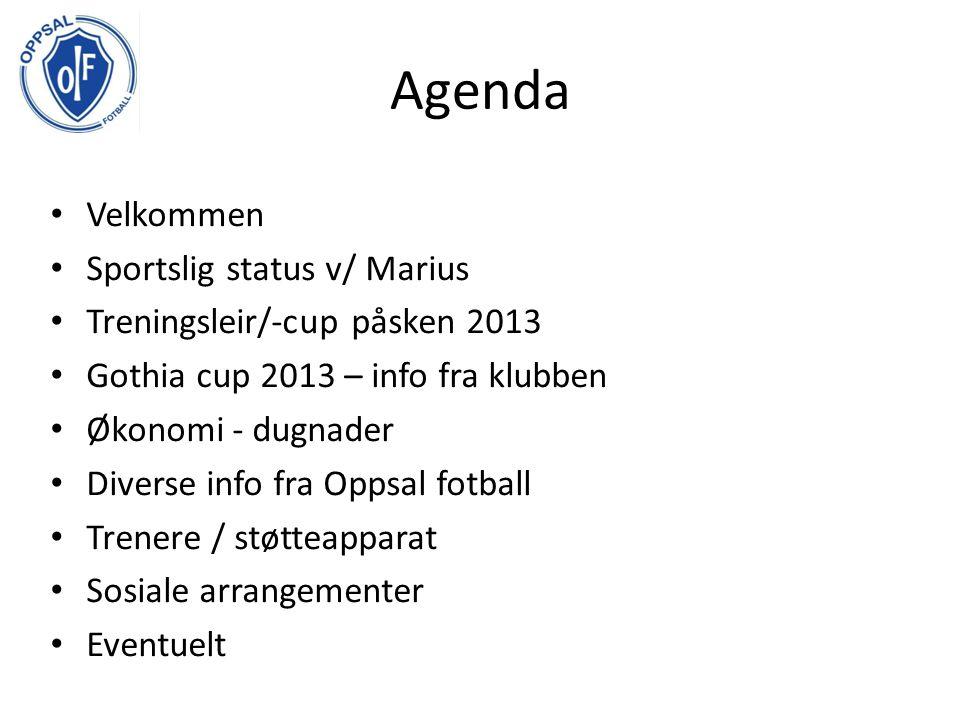 Marius om laget, serien og cuper Oppsummering 2012-sesongen Elitesatsing, spilt mot de beste, høyt aktivitetsnivå, nådd mål om 1.
