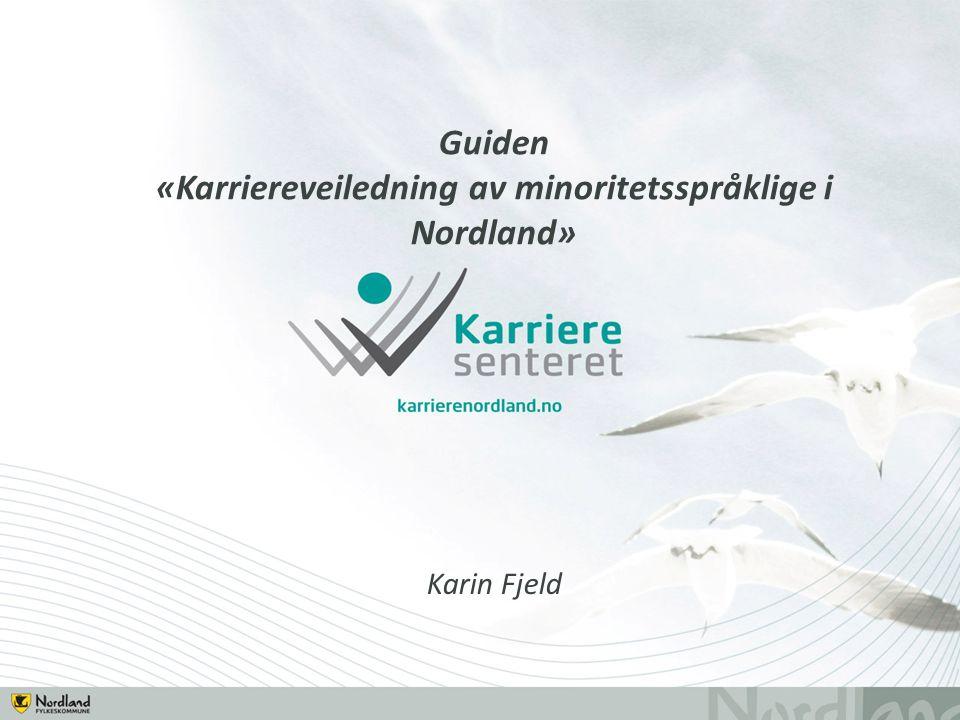 Guiden «Karriereveiledning av minoritetsspråklige i Nordland» Karin Fjeld