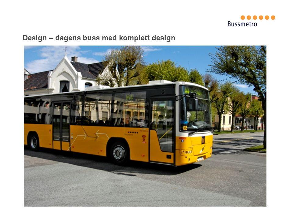 Design – dagens buss med komplett design