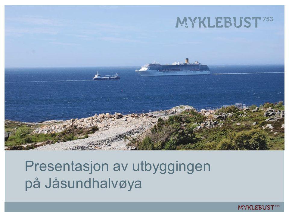 Presentasjon av utbyggingen på Jåsundhalvøya