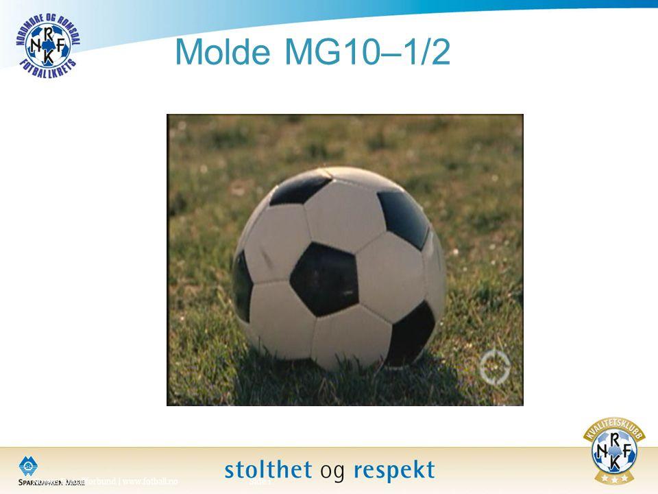 Molde MG10–1/2 Norges Fotballforbund | www.fotball.noSide 1