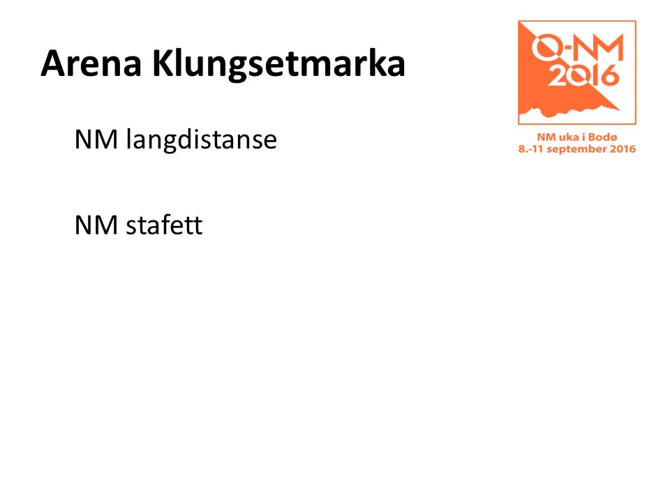 Arena Klungsetmarka NM langdistanse NM stafett