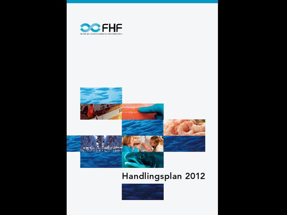 FHFs Handlingsplan Villfisksektoren –Fiske og fangst –Industri og foredling Havbruk Felles satsingsområder –Sjømat og human helse –Restråstoff