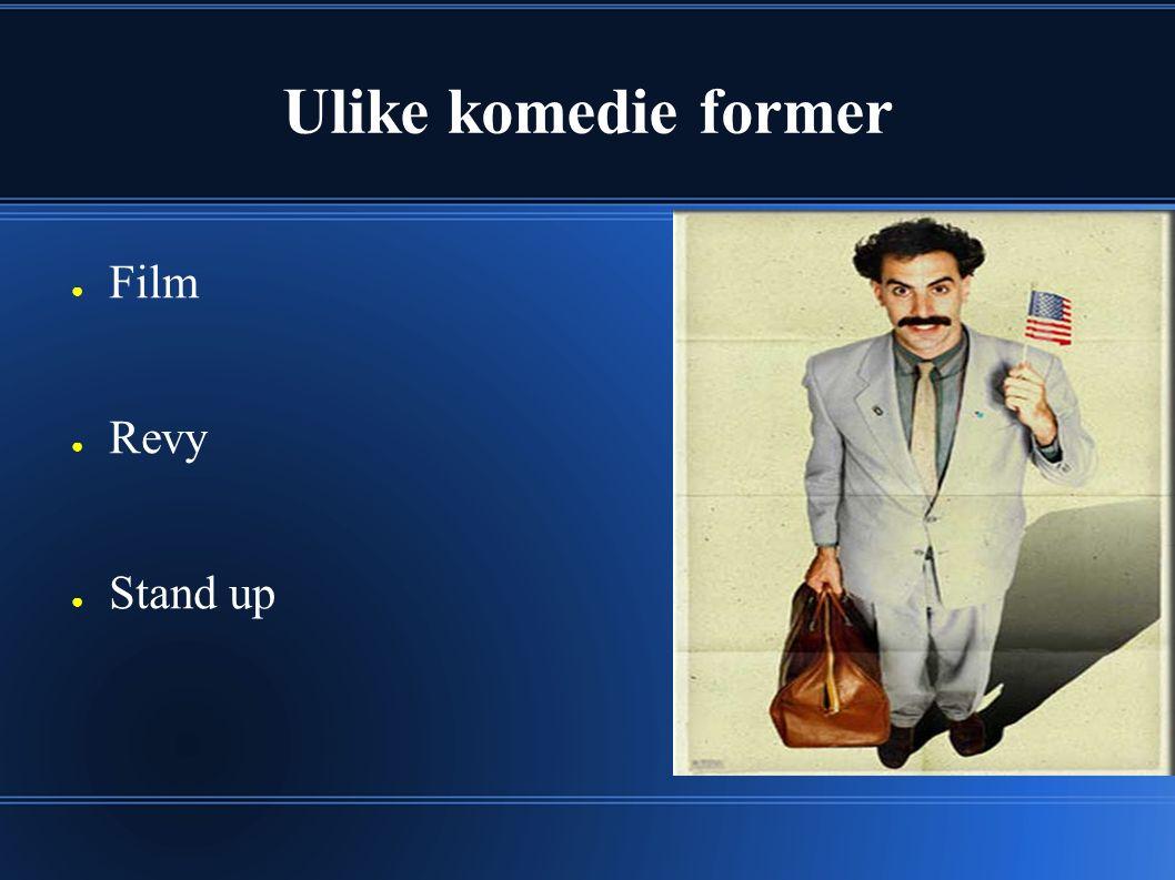 Verdens første komedie - 1896